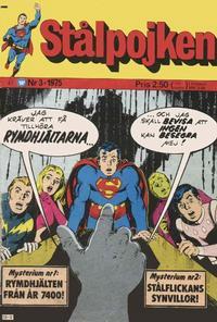 Cover Thumbnail for Stålpojken (Williams Förlags AB, 1969 series) #3/1975