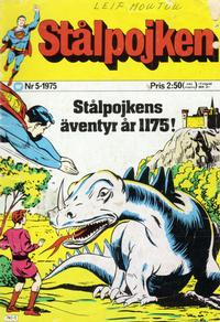 Cover Thumbnail for Stålpojken (Williams Förlags AB, 1969 series) #5/1975