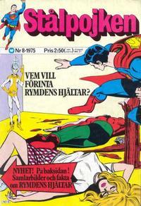 Cover Thumbnail for Stålpojken (Williams Förlags AB, 1969 series) #8/1975