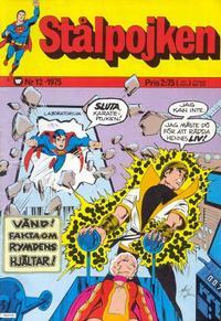 Cover Thumbnail for Stålpojken (Williams Förlags AB, 1969 series) #12/1975