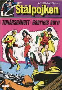 Cover Thumbnail for Stålpojken (Semic, 1976 series) #7/1978