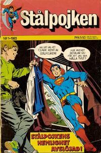 Cover Thumbnail for Stålpojken (Semic, 1983 series) #1/1983