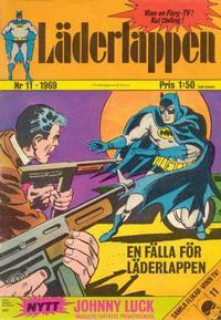 Cover Thumbnail for Läderlappen (Williams Förlags AB, 1969 series) #11/1969