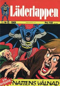 Cover Thumbnail for Läderlappen (Williams Förlags AB, 1969 series) #12/1969