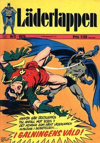 Cover Thumbnail for Läderlappen (Williams Förlags AB, 1969 series) #2/1970