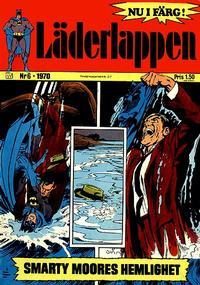 Cover Thumbnail for Läderlappen (Williams Förlags AB, 1969 series) #6/1970