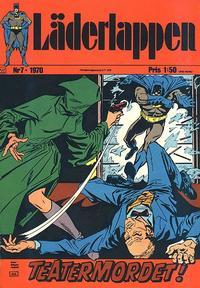 Cover Thumbnail for Läderlappen (Williams Förlags AB, 1969 series) #7/1970
