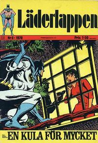 Cover Thumbnail for Läderlappen (Williams Förlags AB, 1969 series) #8/1970