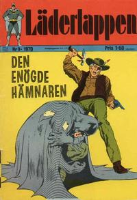 Cover Thumbnail for Läderlappen (Williams Förlags AB, 1969 series) #9/1970