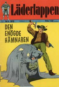Cover Thumbnail for Läderlappen (Williams Förlags AB, 1969 series) #9/1970
