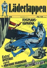 Cover for Läderlappen (Williams Förlags AB, 1969 series) #10/1970