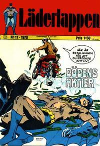 Cover Thumbnail for Läderlappen (Williams Förlags AB, 1969 series) #11/1970