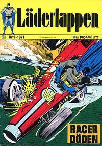 Cover Thumbnail for Läderlappen (Williams Förlags AB, 1969 series) #1/1971