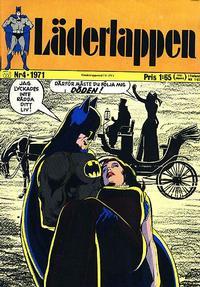 Cover Thumbnail for Läderlappen (Williams Förlags AB, 1969 series) #4/1971