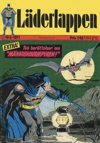 Cover Thumbnail for Läderlappen (Williams Förlags AB, 1969 series) #5/1971