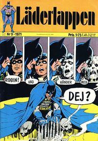 Cover Thumbnail for Läderlappen (Williams Förlags AB, 1969 series) #9/1971