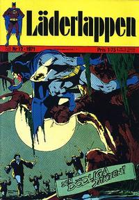 Cover Thumbnail for Läderlappen (Williams Förlags AB, 1969 series) #12/1971