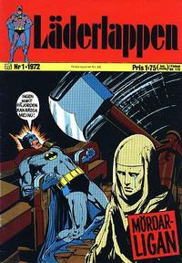 Cover Thumbnail for Läderlappen (Williams Förlags AB, 1969 series) #1/1972