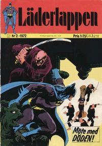 Cover Thumbnail for Läderlappen (Williams Förlags AB, 1969 series) #2/1972