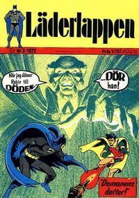 Cover Thumbnail for Läderlappen (Williams Förlags AB, 1969 series) #3/1972