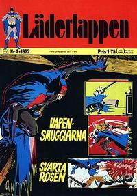 Cover Thumbnail for Läderlappen (Williams Förlags AB, 1969 series) #4/1972