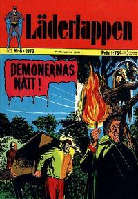 Cover Thumbnail for Läderlappen (Williams Förlags AB, 1969 series) #6/1972