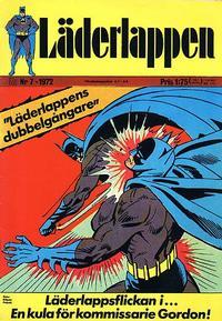 Cover Thumbnail for Läderlappen (Williams Förlags AB, 1969 series) #7/1972