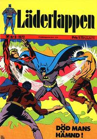 Cover Thumbnail for Läderlappen (Williams Förlags AB, 1969 series) #9/1972