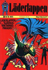 Cover Thumbnail for Läderlappen (Williams Förlags AB, 1969 series) #10/1972