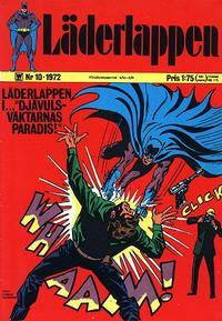 Cover for Läderlappen (Williams Förlags AB, 1969 series) #10/1972