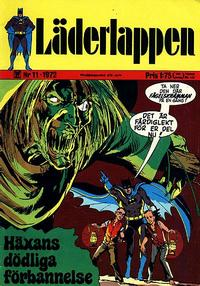 Cover Thumbnail for Läderlappen (Williams Förlags AB, 1969 series) #11/1972