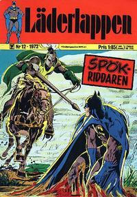 Cover Thumbnail for Läderlappen (Williams Förlags AB, 1969 series) #12/1972