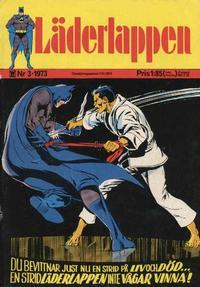 Cover Thumbnail for Läderlappen (Williams Förlags AB, 1969 series) #3/1973
