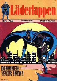 Cover Thumbnail for Läderlappen (Williams Förlags AB, 1969 series) #4/1973