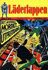 Cover Thumbnail for Läderlappen (Williams Förlags AB, 1969 series) #5/1973
