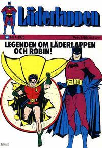Cover Thumbnail for Läderlappen (Williams Förlags AB, 1969 series) #4/1975