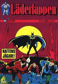 Cover Thumbnail for Läderlappen (Williams Förlags AB, 1969 series) #5/1975