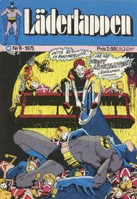 Cover Thumbnail for Läderlappen (Williams Förlags AB, 1969 series) #8/1975