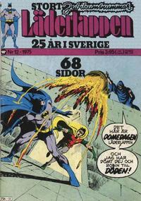 Cover Thumbnail for Läderlappen (Williams Förlags AB, 1969 series) #12/1975