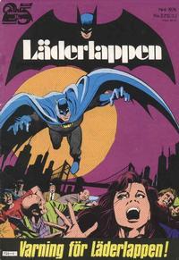 Cover Thumbnail for Läderlappen (Williams Förlags AB, 1969 series) #6/1976
