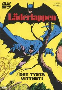 Cover Thumbnail for Läderlappen (Williams Förlags AB, 1969 series) #8/1976
