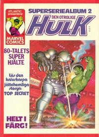 Cover Thumbnail for Hulk album (Atlantic Förlags AB, 1979 series) #2