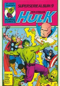 Cover Thumbnail for Hulk album (Atlantic Förlags AB, 1979 series) #9