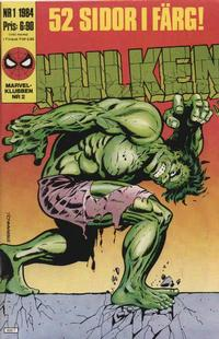 Cover Thumbnail for Hulken (Semic, 1984 series) #1/1984