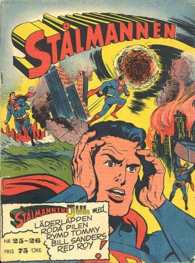 Cover for Stålmannen (Centerförlaget, 1949 series) #25-26/1953