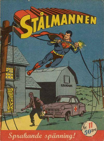Cover for Stålmannen (Centerförlaget, 1949 series) #11/1954