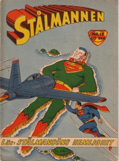 Cover for Stålmannen (Centerförlaget, 1949 series) #19/1957