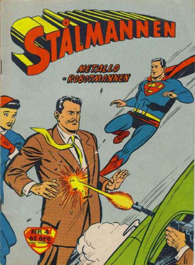 Cover for Stålmannen (Centerförlaget, 1949 series) #4/1960