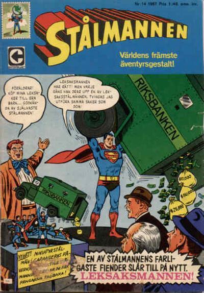 Cover for Stålmannen (Centerförlaget, 1949 series) #14/1967