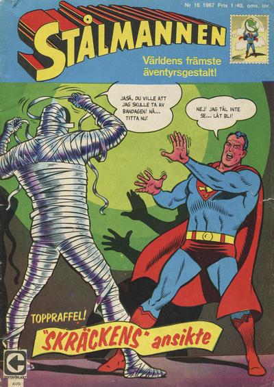 Cover for Stålmannen (Centerförlaget, 1949 series) #16/1967